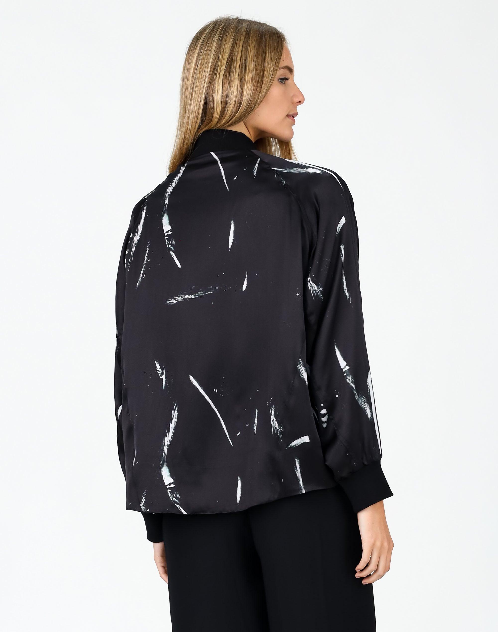 Art Form Silk Bomber