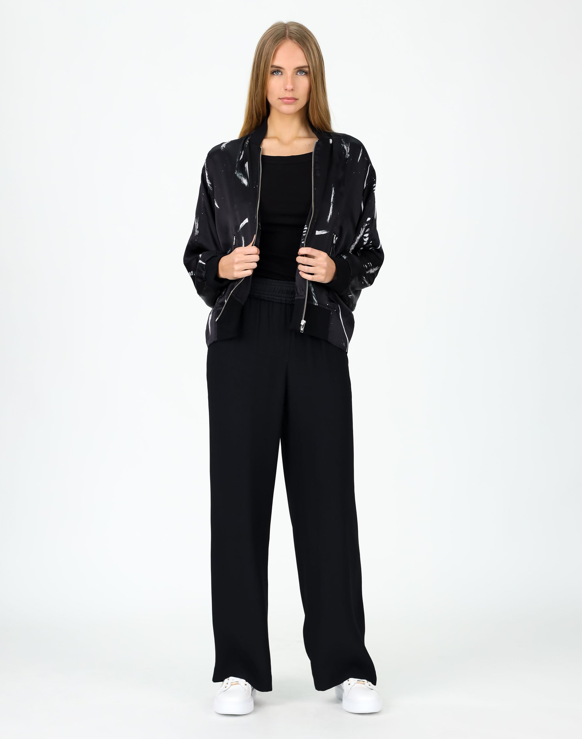 Art Form Silk Bomber