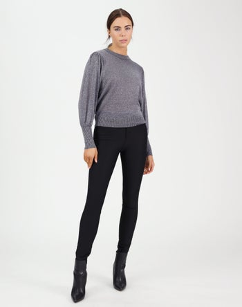 Charcoal / Silver Lurex - Storm Women's Clothing
