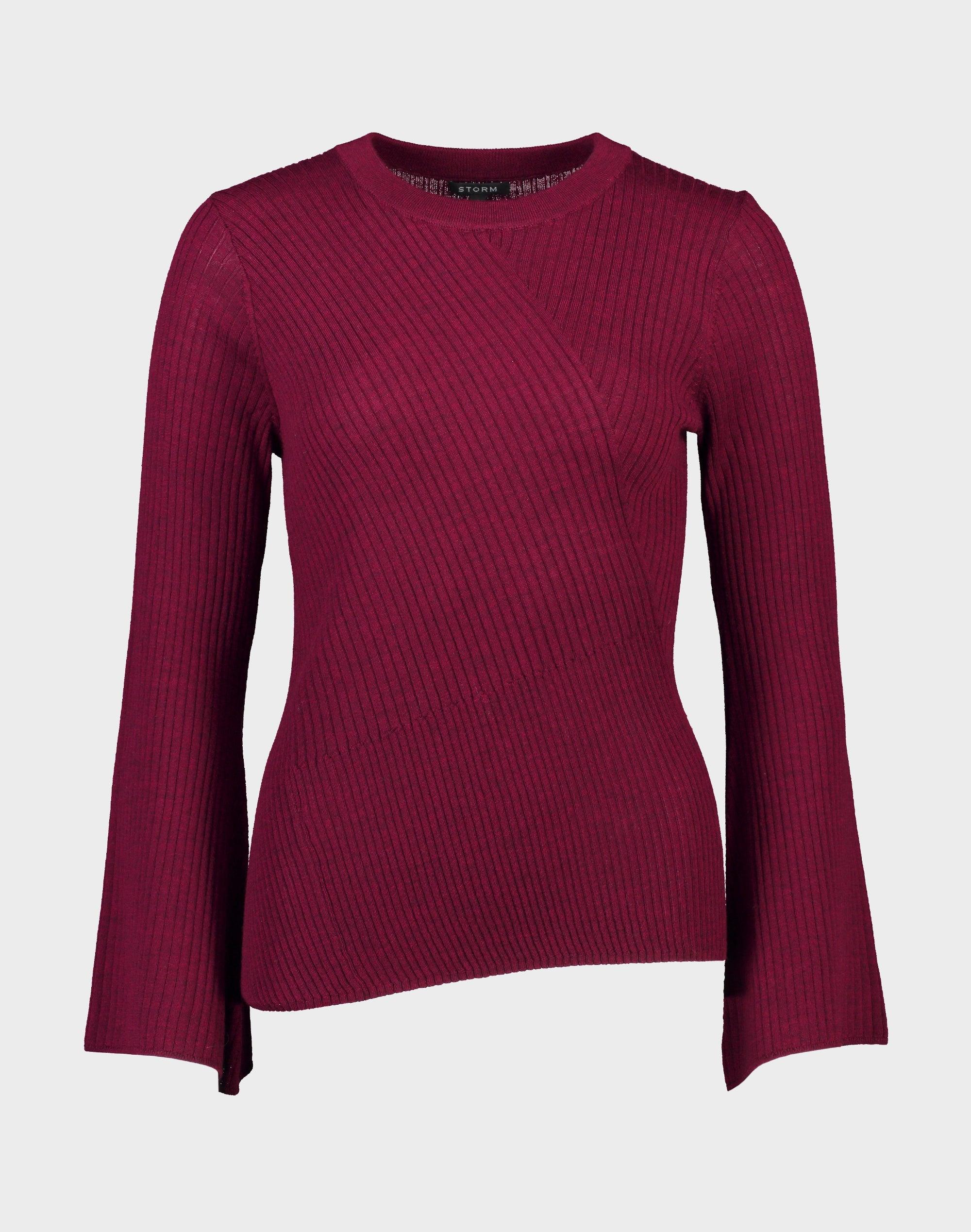 Bell Sleeve Merino Sweater