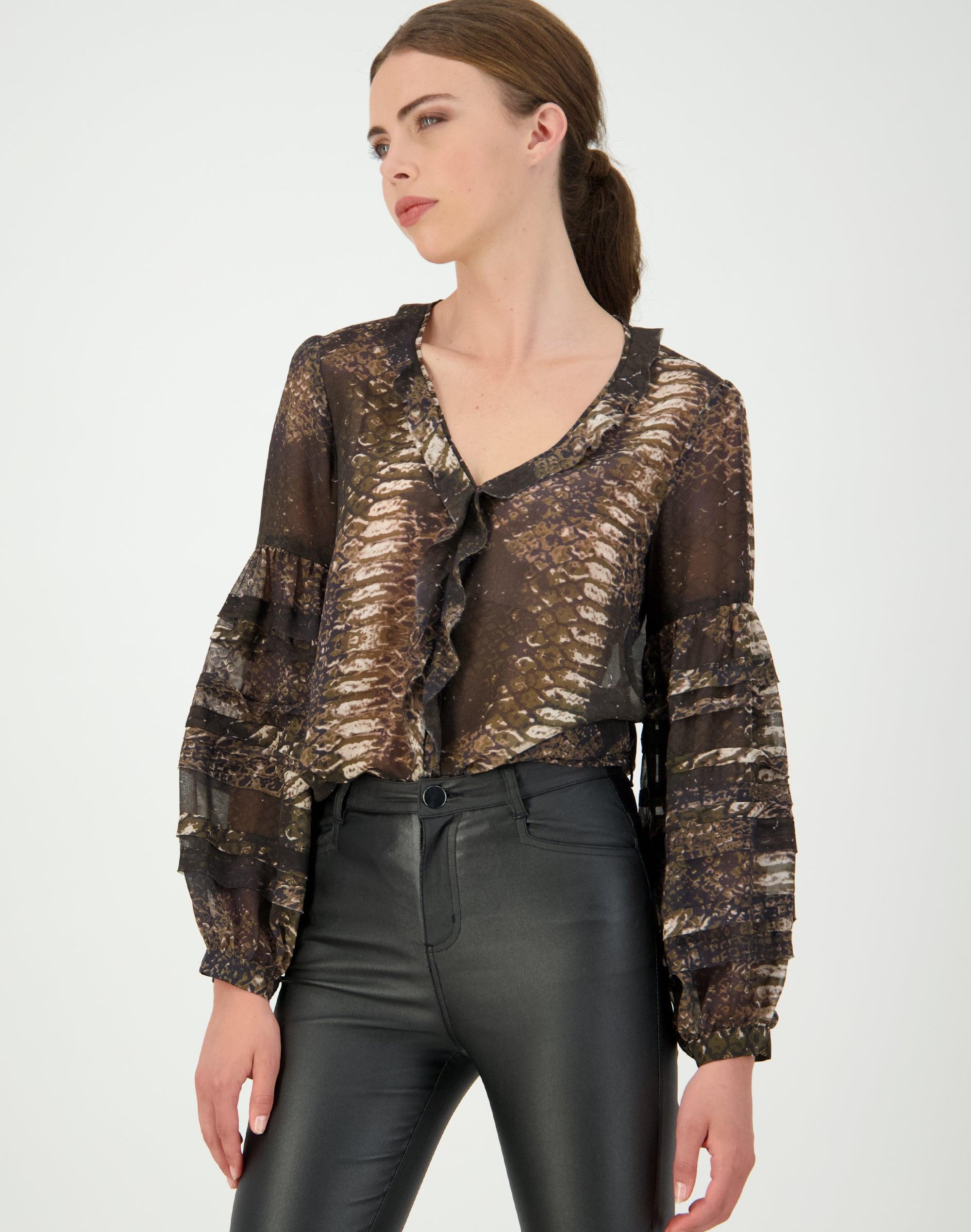 Boa Silk Shirt