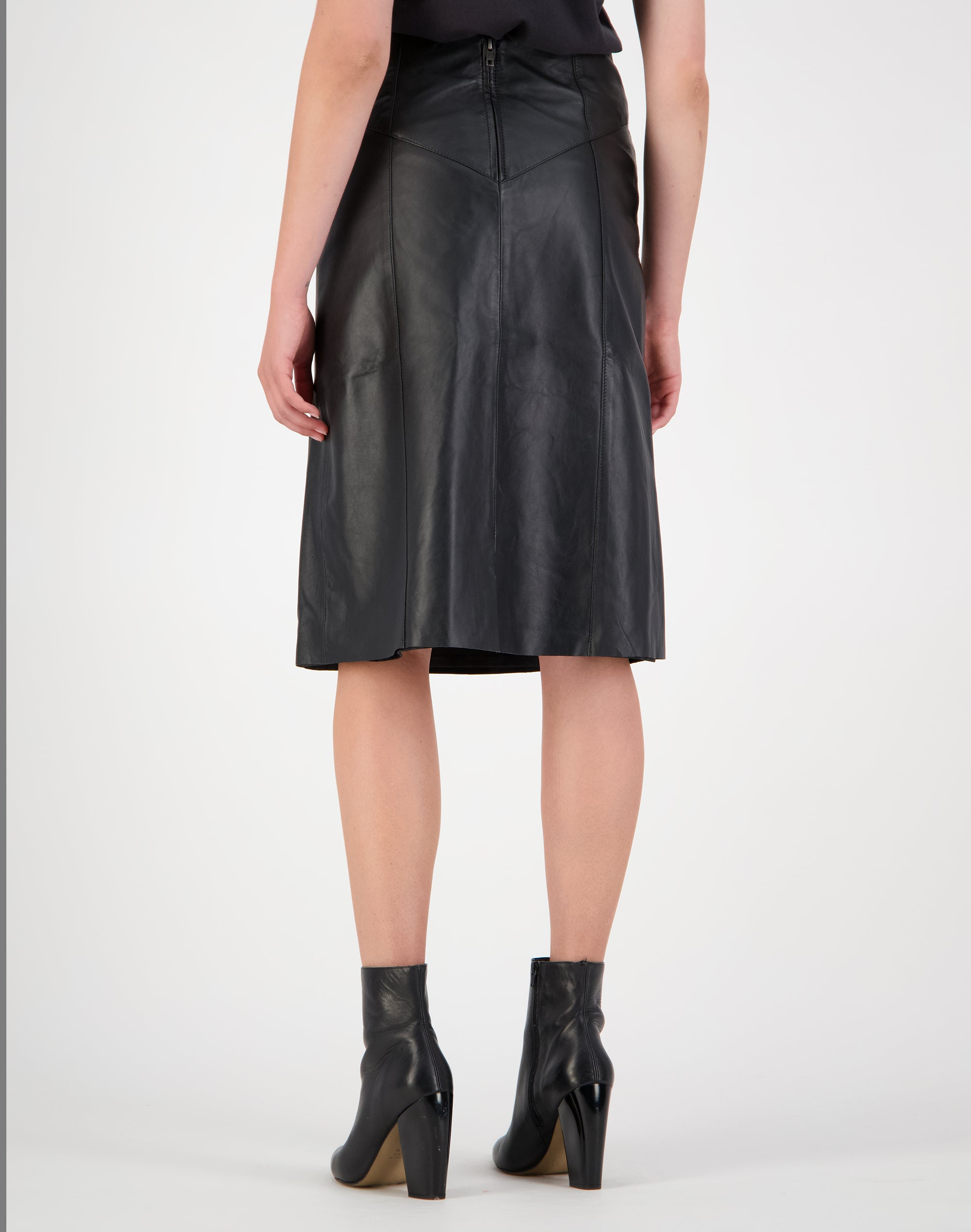 Bowie Leather Skirt