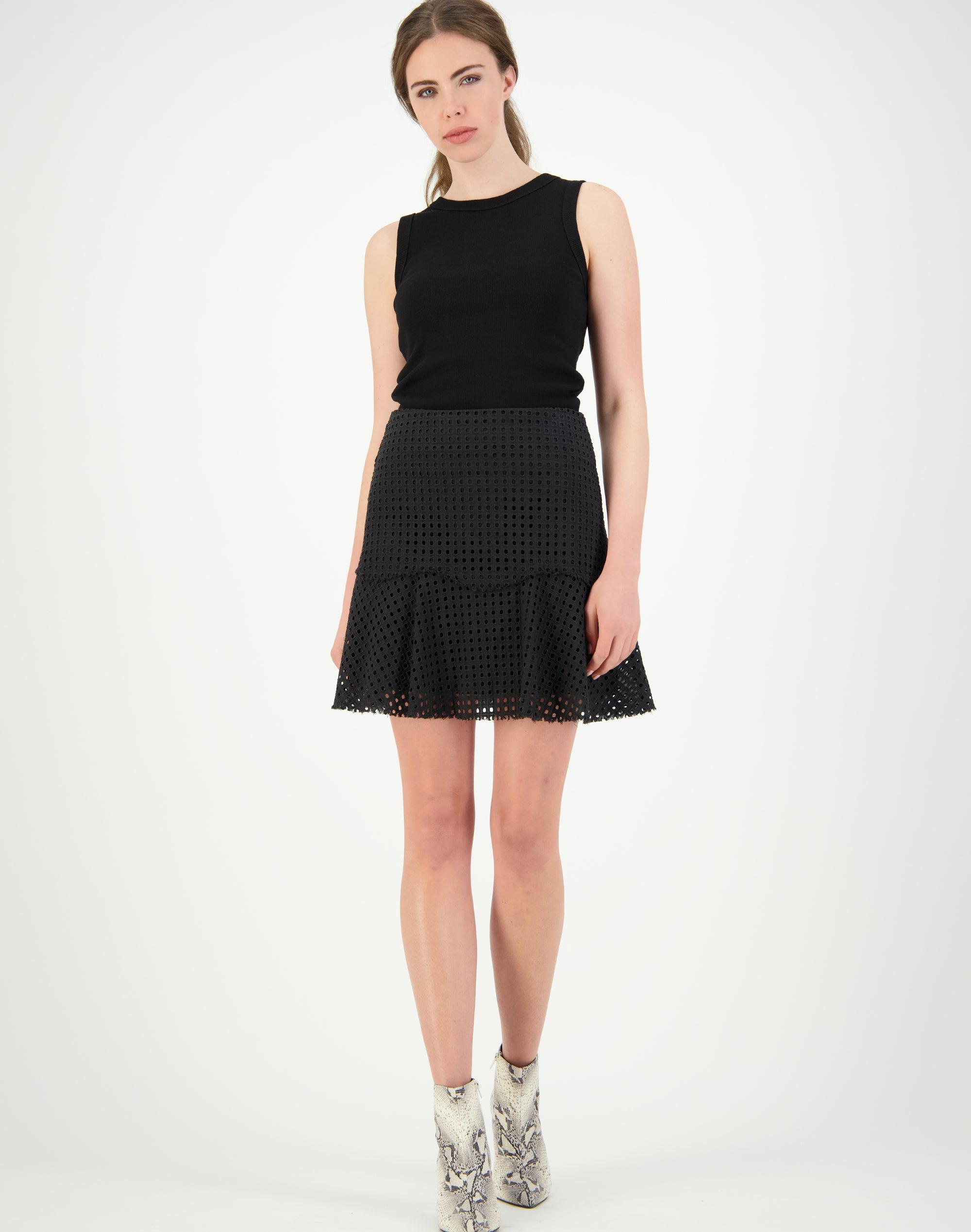 Broderie Phillips Skirt