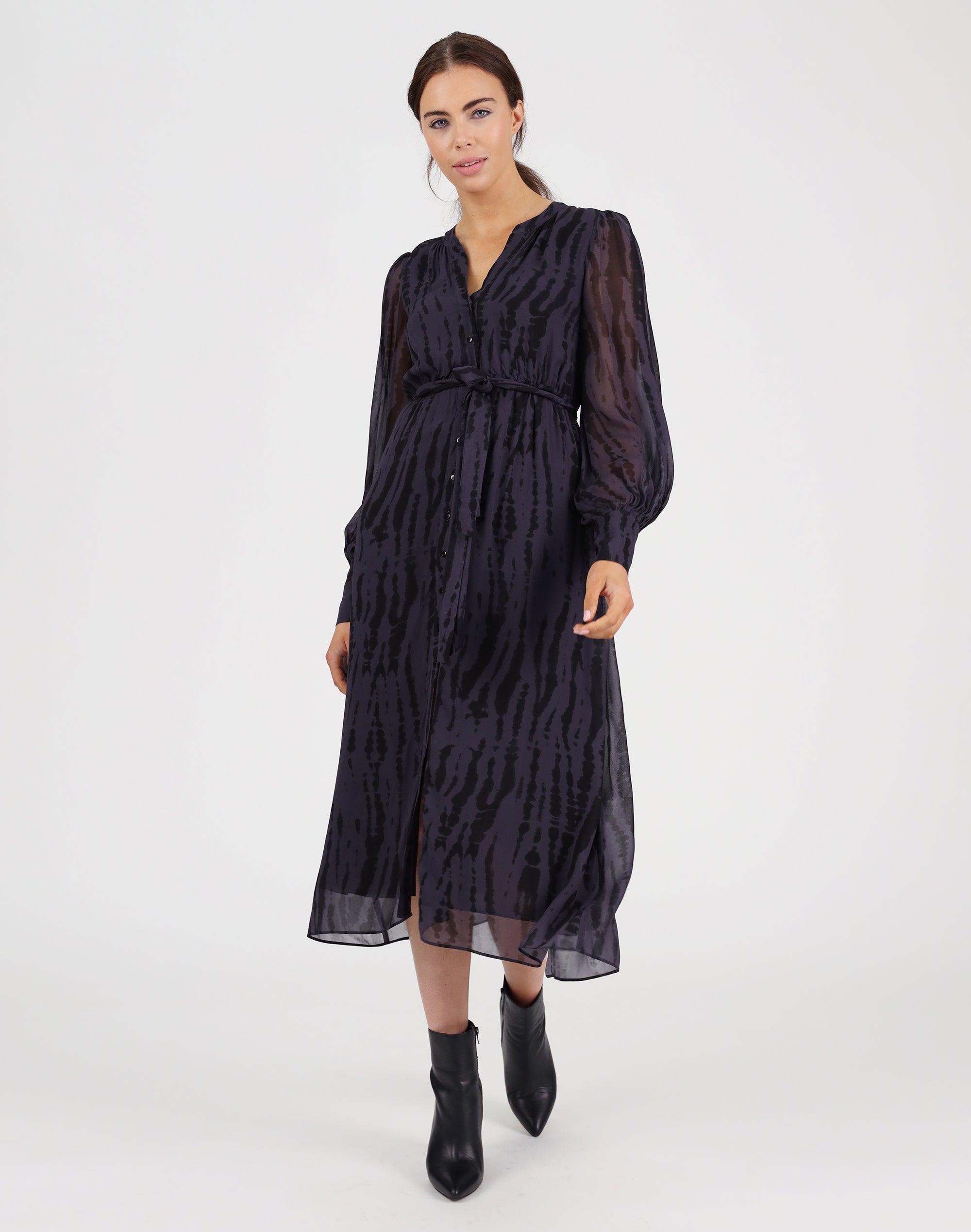 Venice Print Dress
