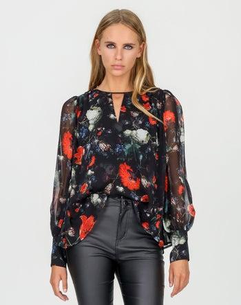 Black Print - Storm Women's Clothing