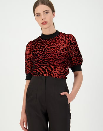 Black/Red - Storm Women's Clothing