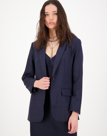 Blue Check - Storm Women's Clothing