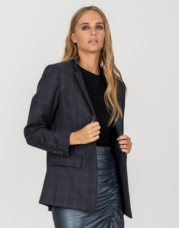 Charcoal check - Storm Women's Clothing