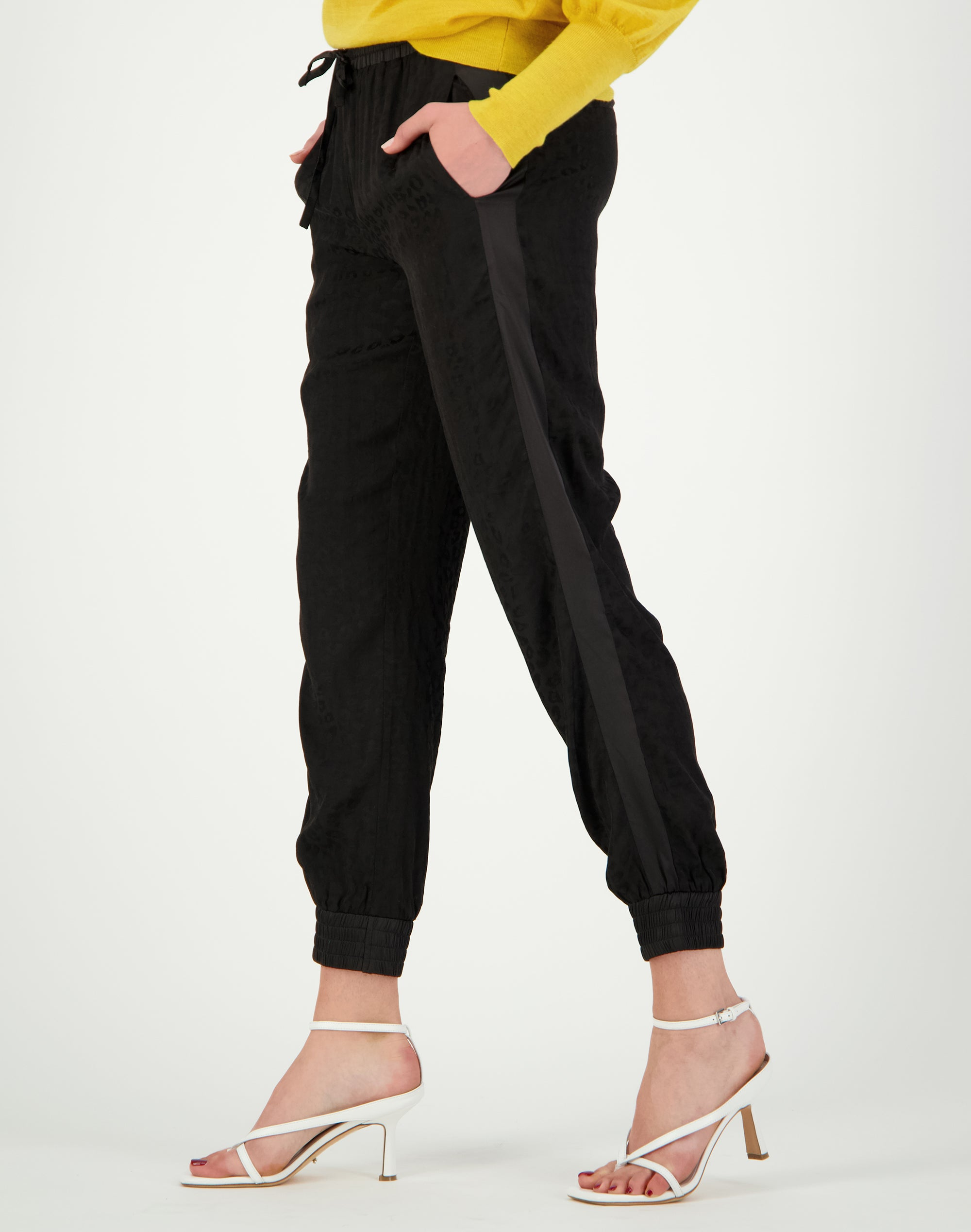 Jacquard Side Swipe Pant