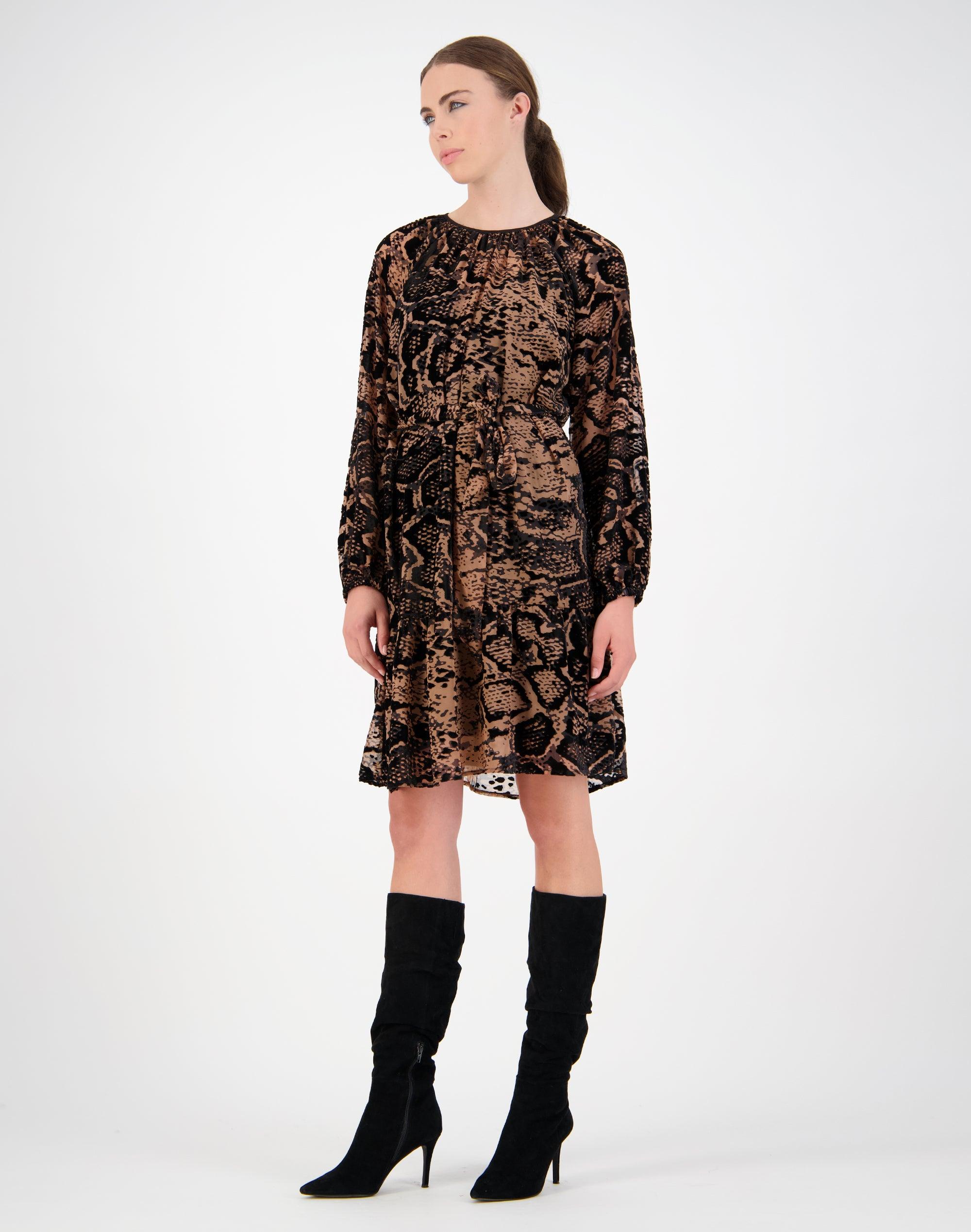 Komodo Burnout Dress