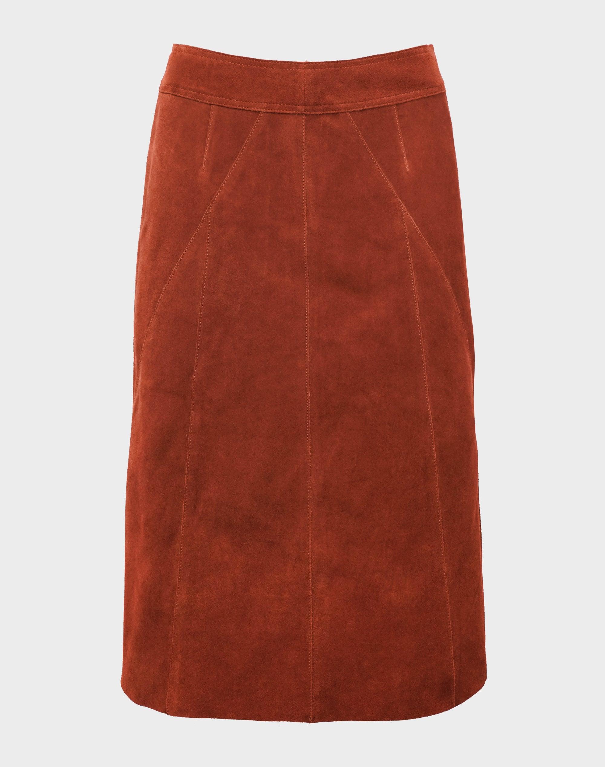 Kravitz Suede Skirt