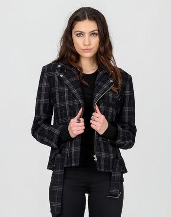 Black/Grey Check - Storm Women's Clothing