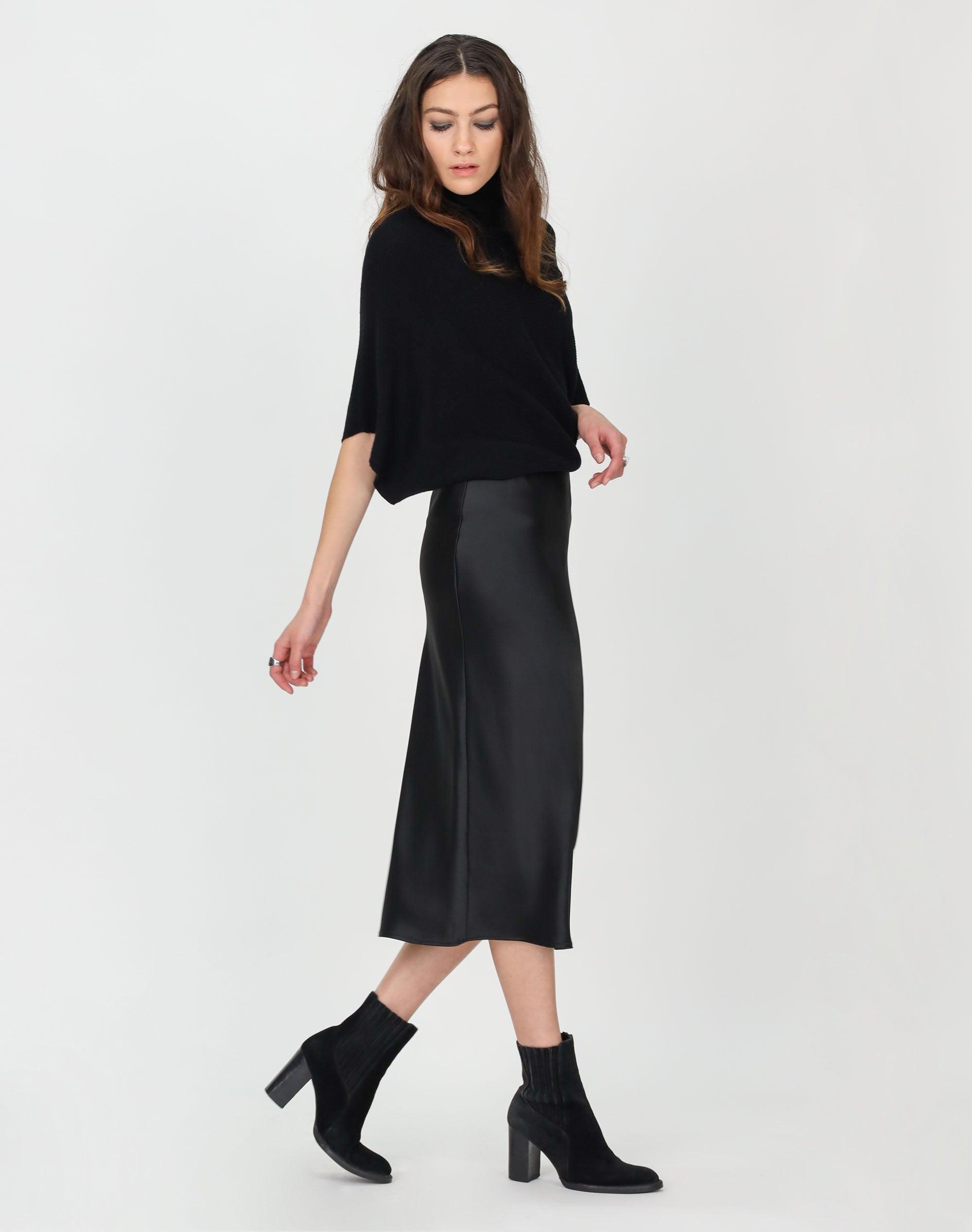 Liquid Midi Skirt