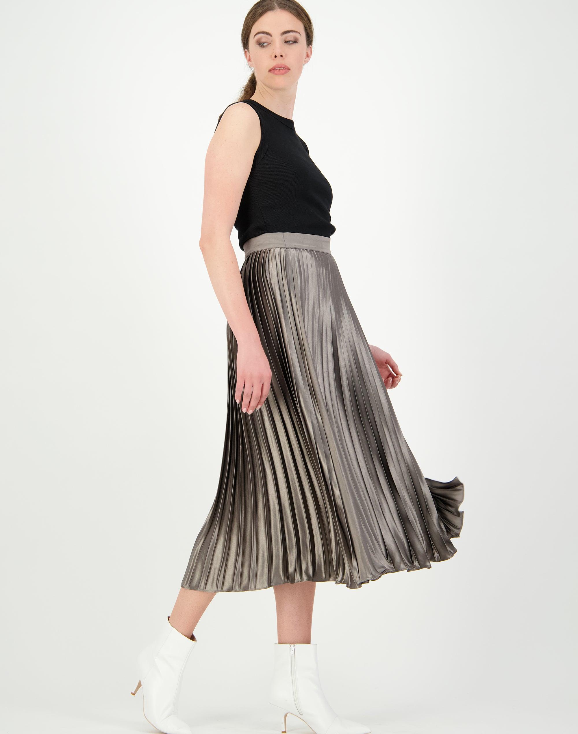 Liquid Pleated Skirt