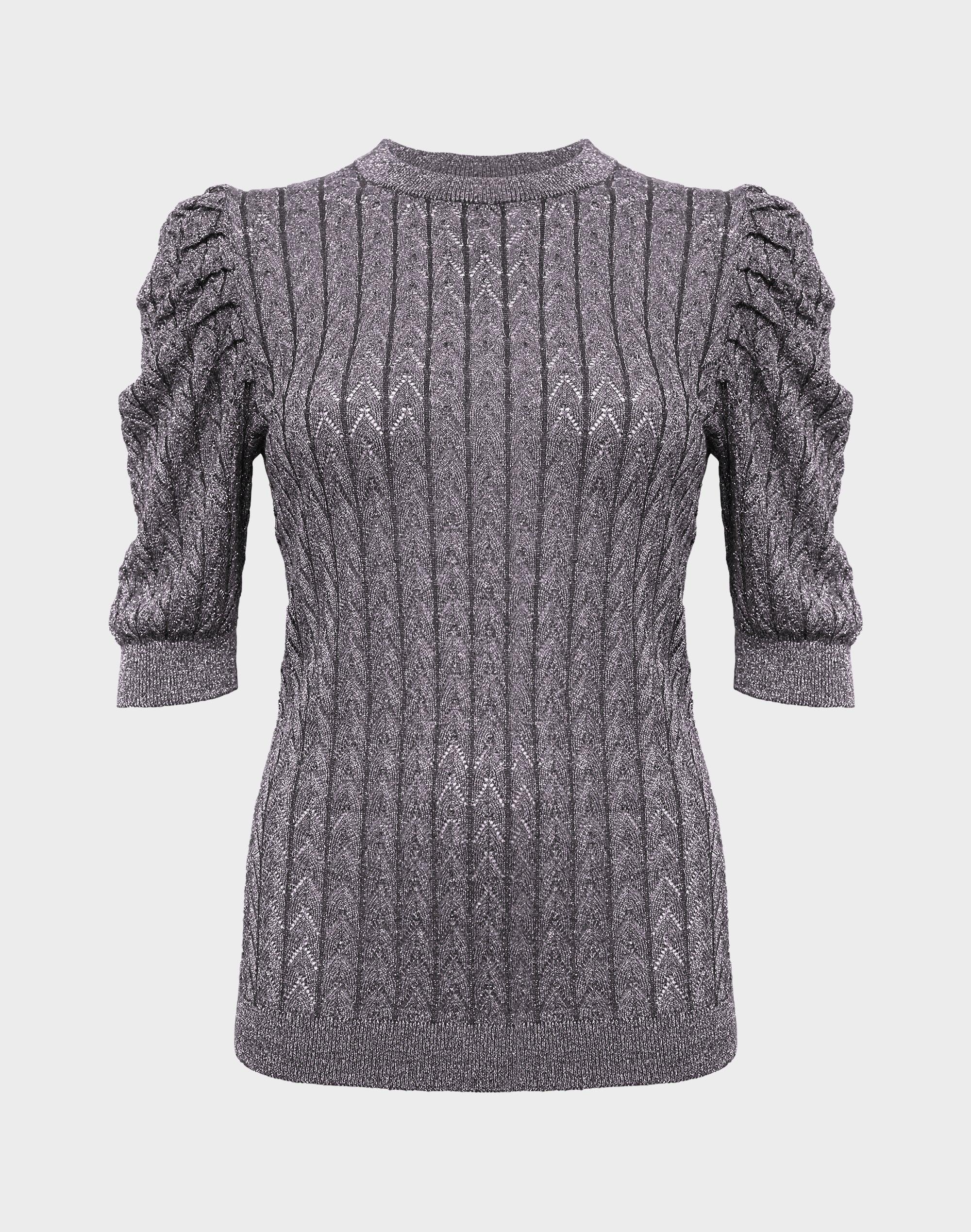 Miley Lurex Sweater