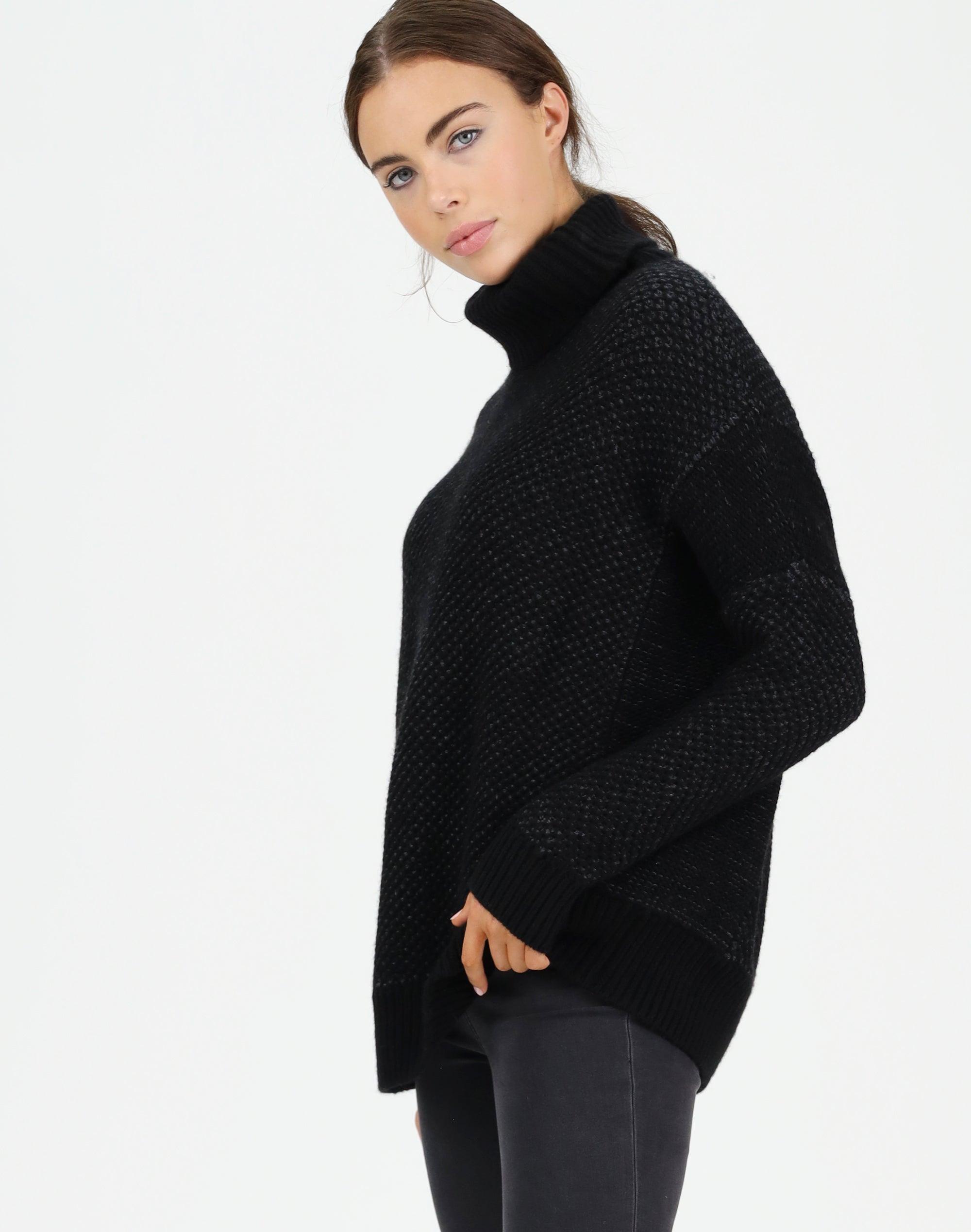 Moss Stitch Sweater