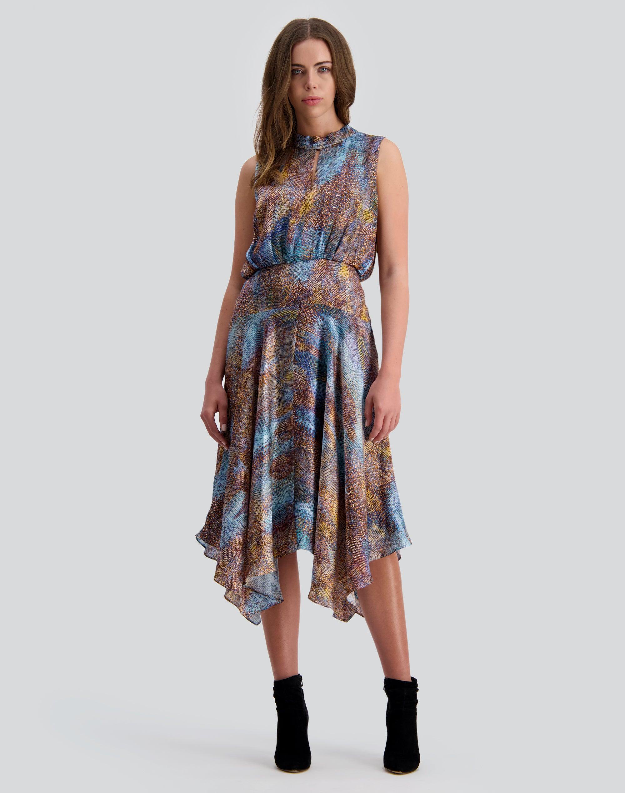 Newton Silk Dress