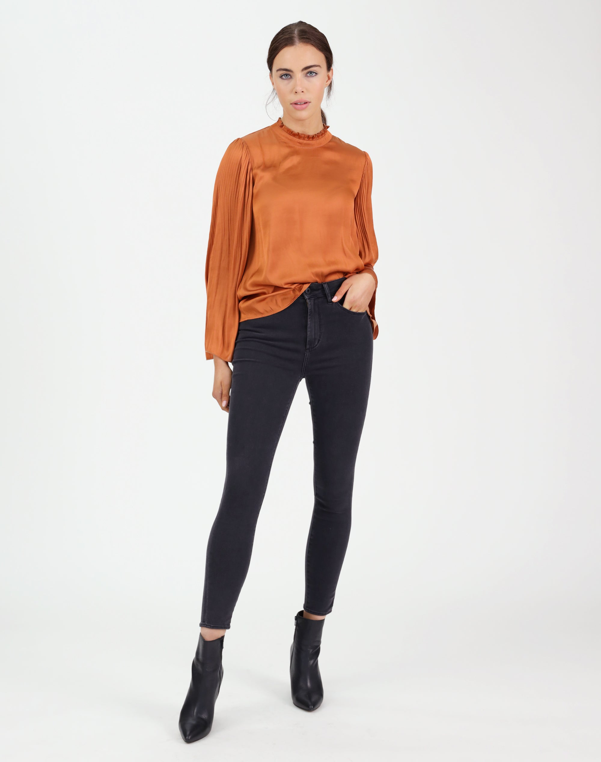 Pleated Vision Top