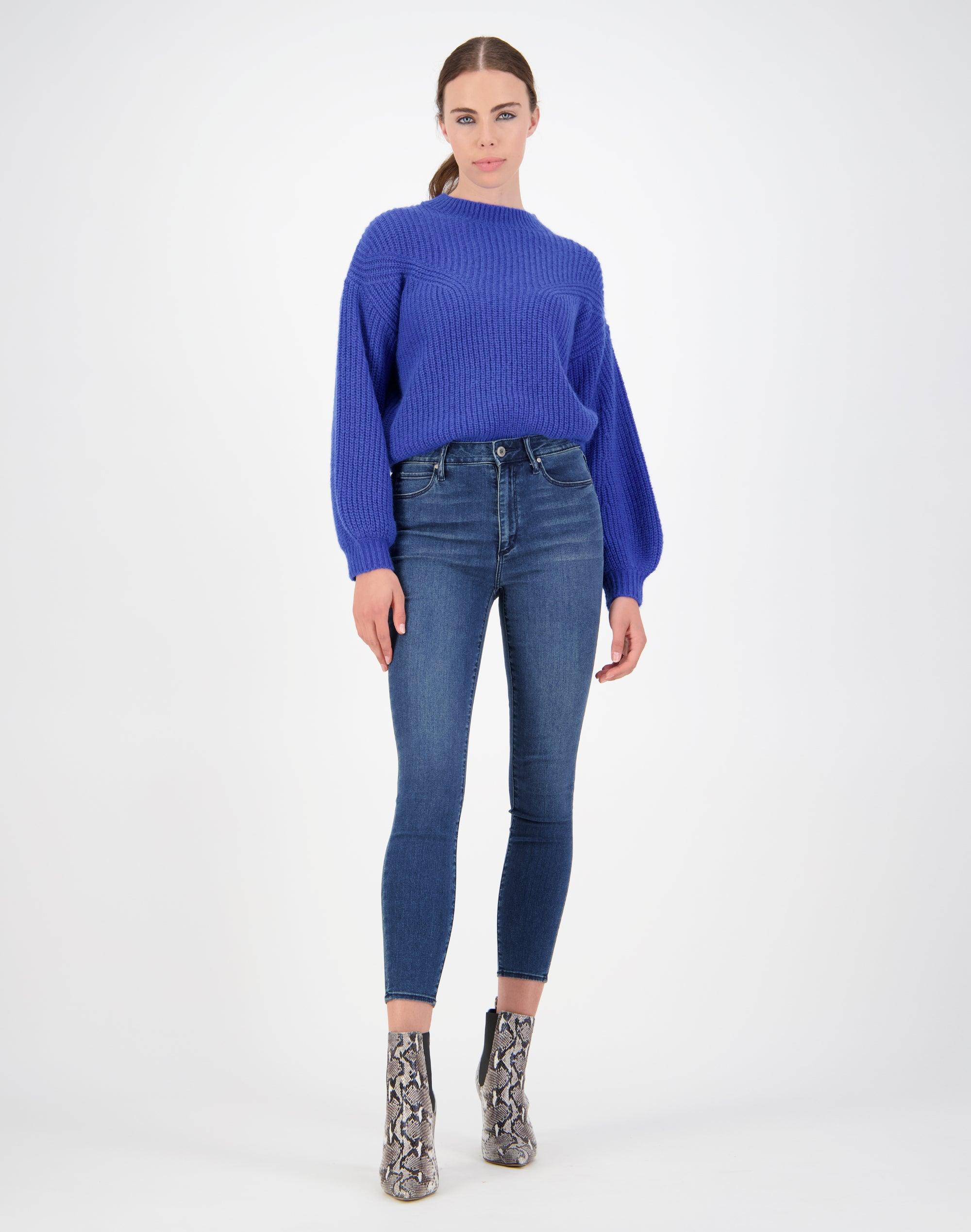 Rib Front Sweater