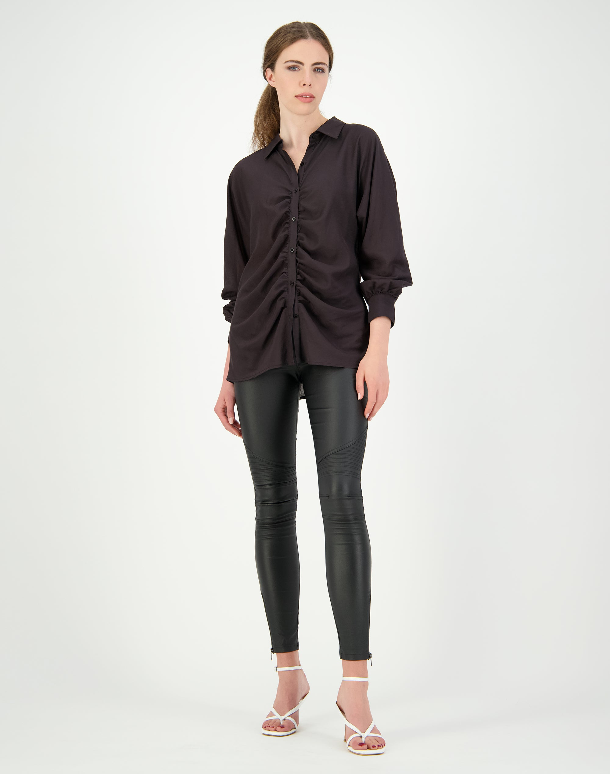 Rouched Front Shirt