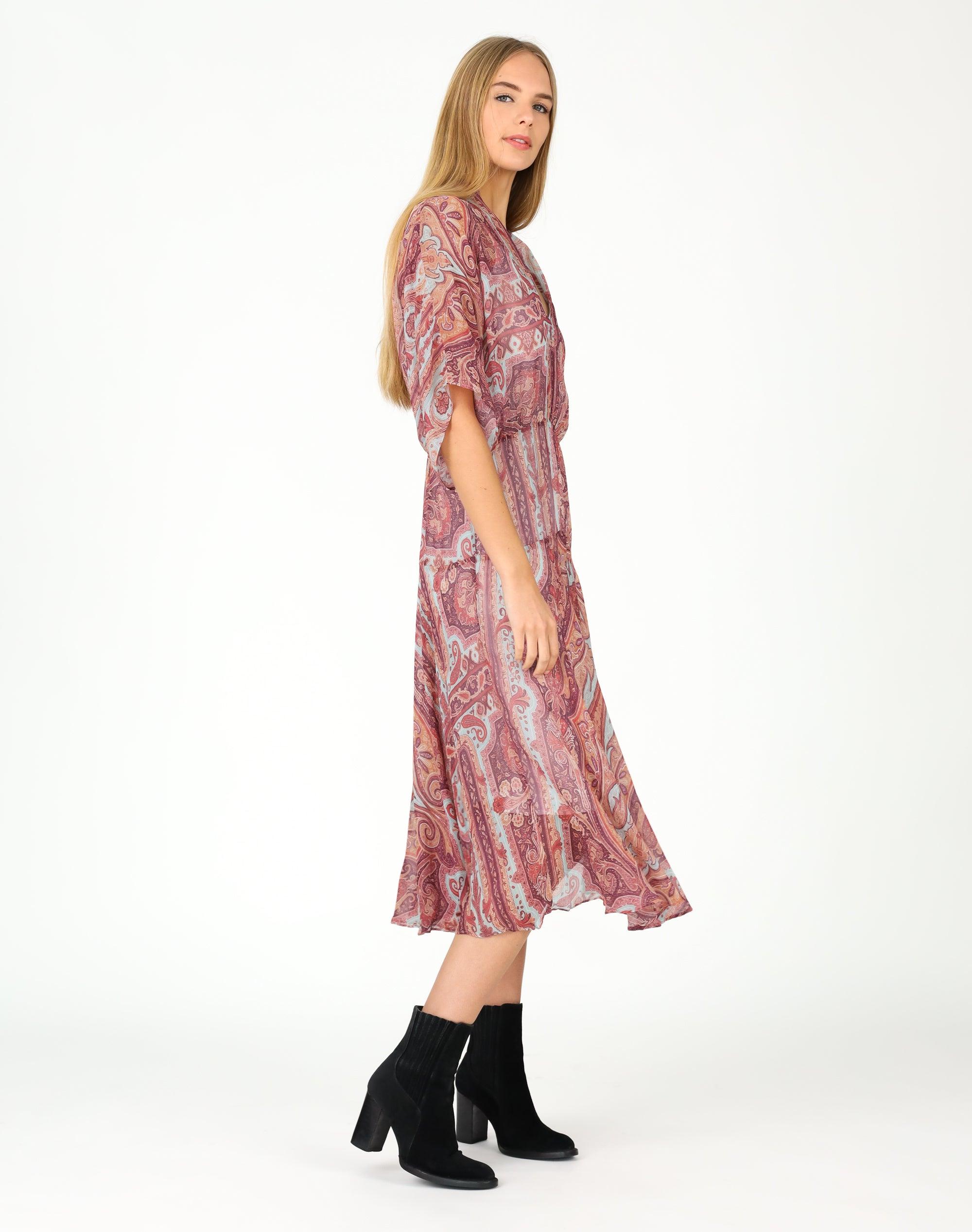Ruby Paisley Dress
