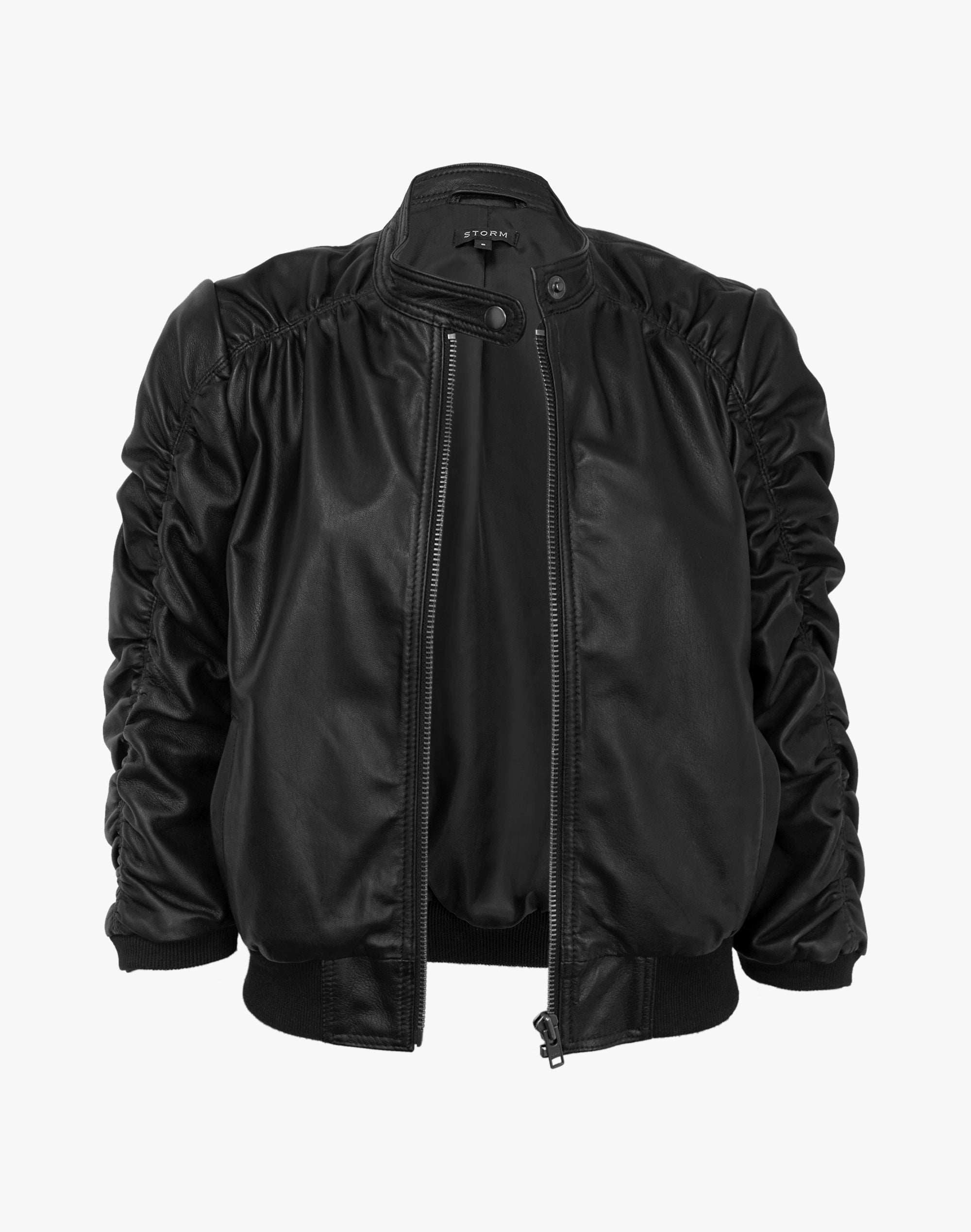 Shallow Leather Jacket