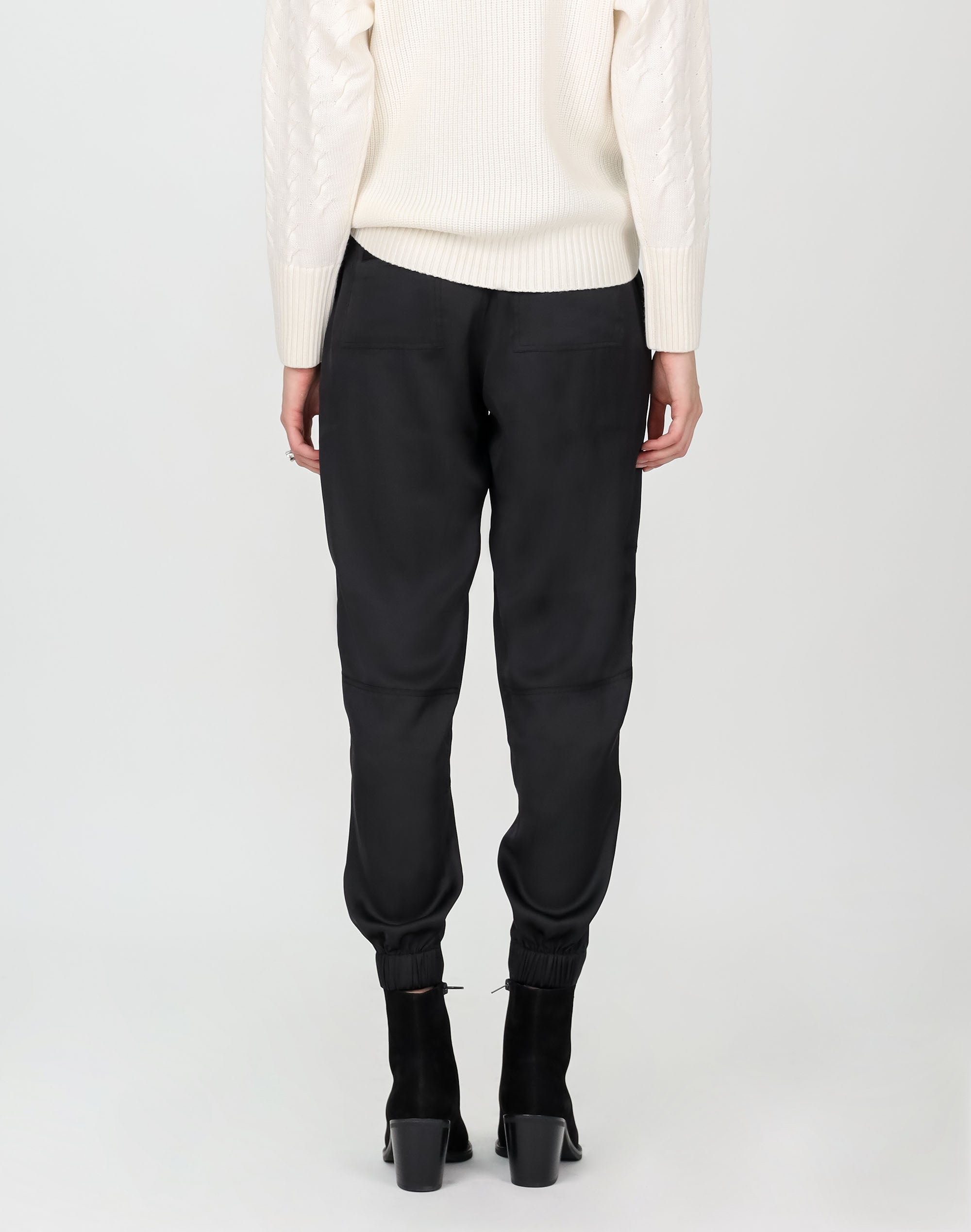 Slouch Satin Pant