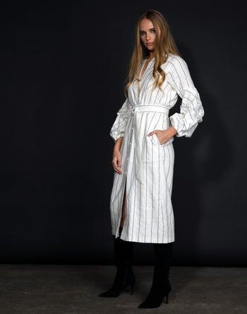 White Stripe - Storm Women's Clothing