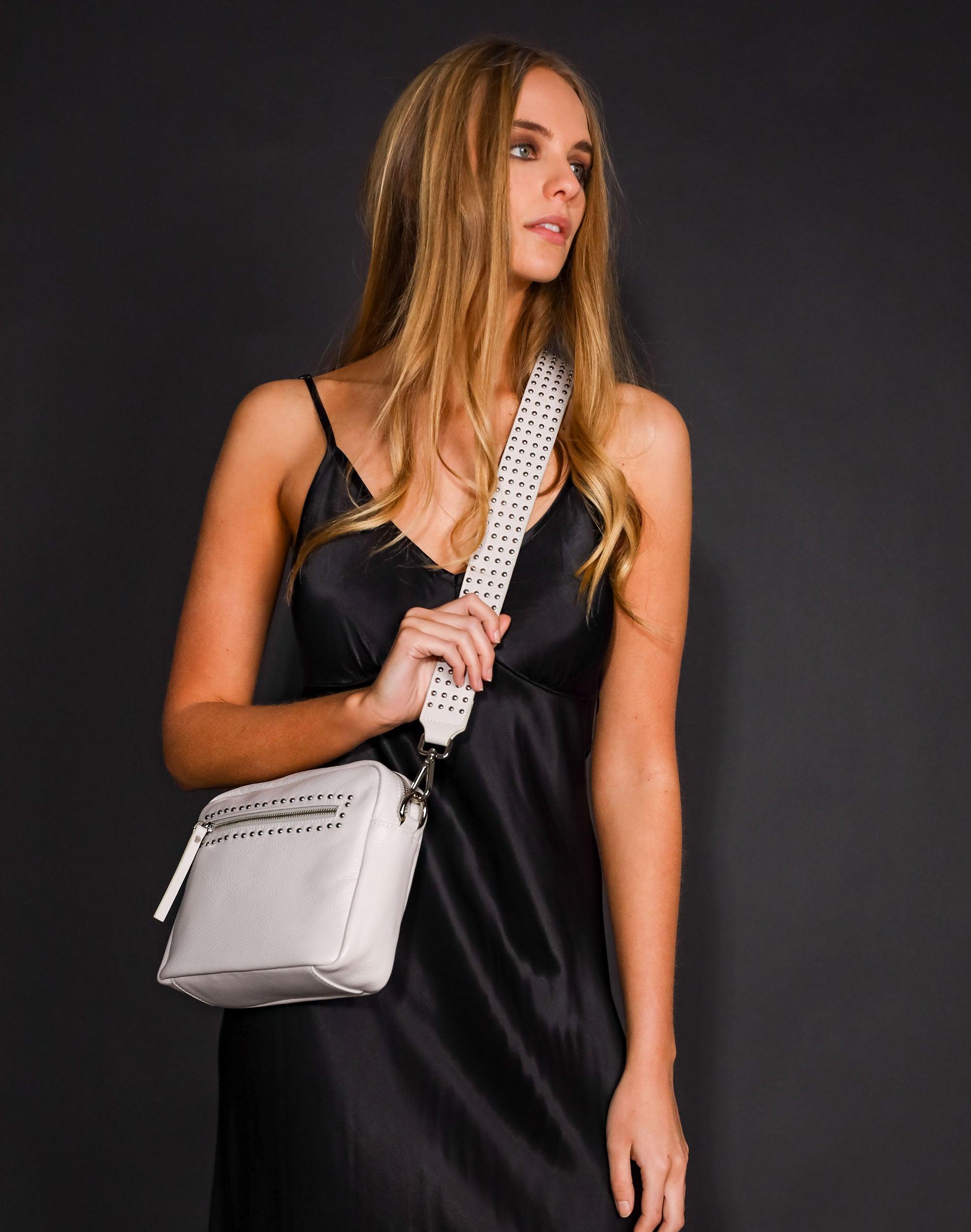 Stud Detail Shoulder Bag