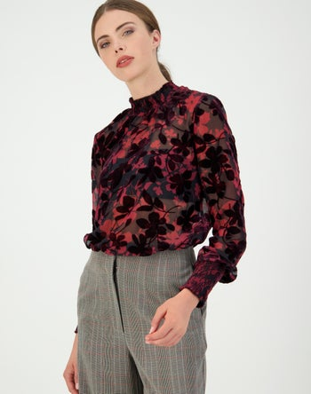 Burgandy - Storm Women's Clothing