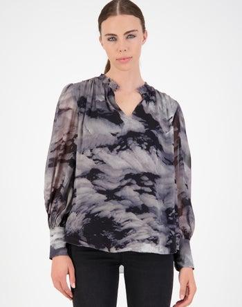 Grey Print - Storm Women's Clothing