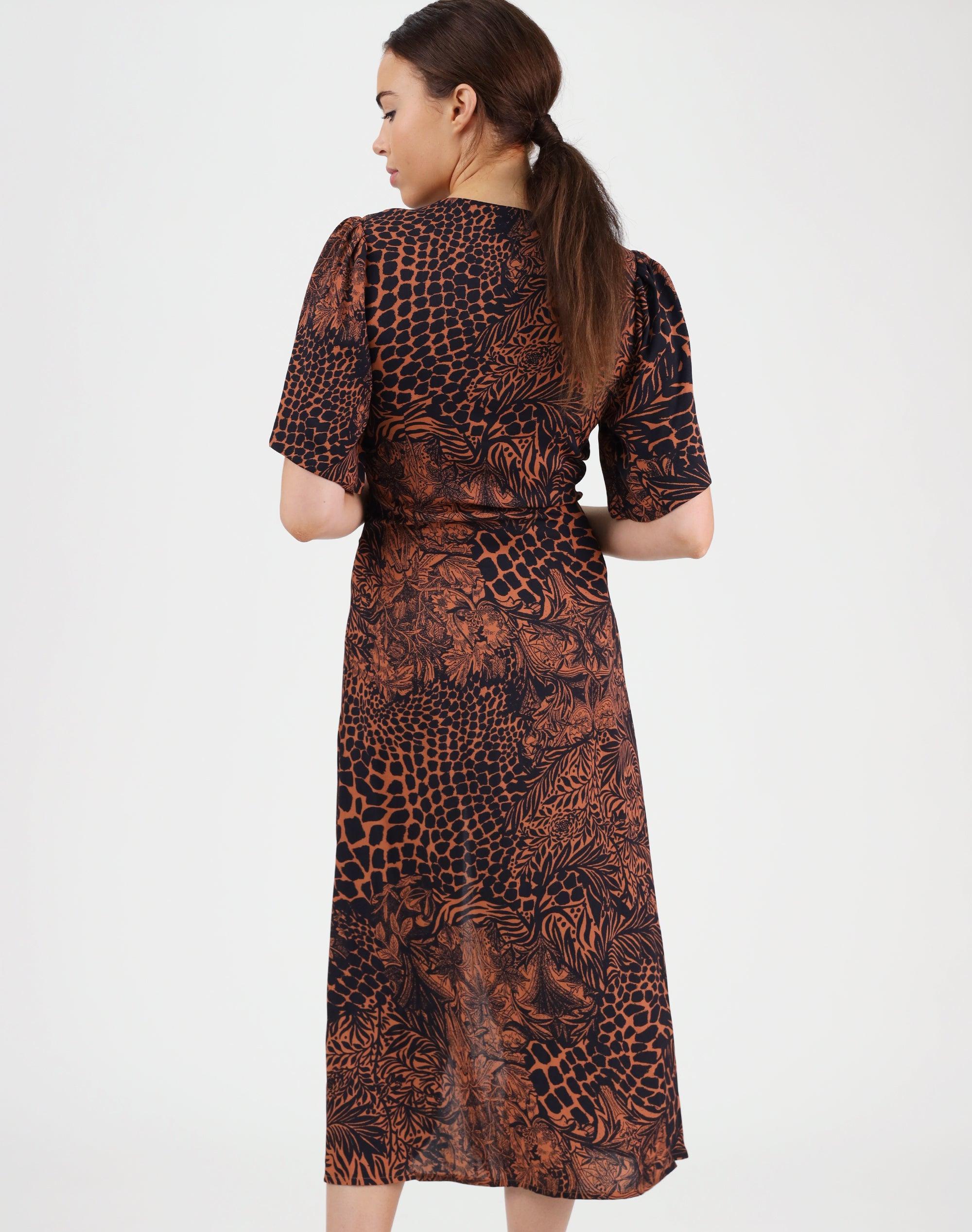 Tokyo Print Dress
