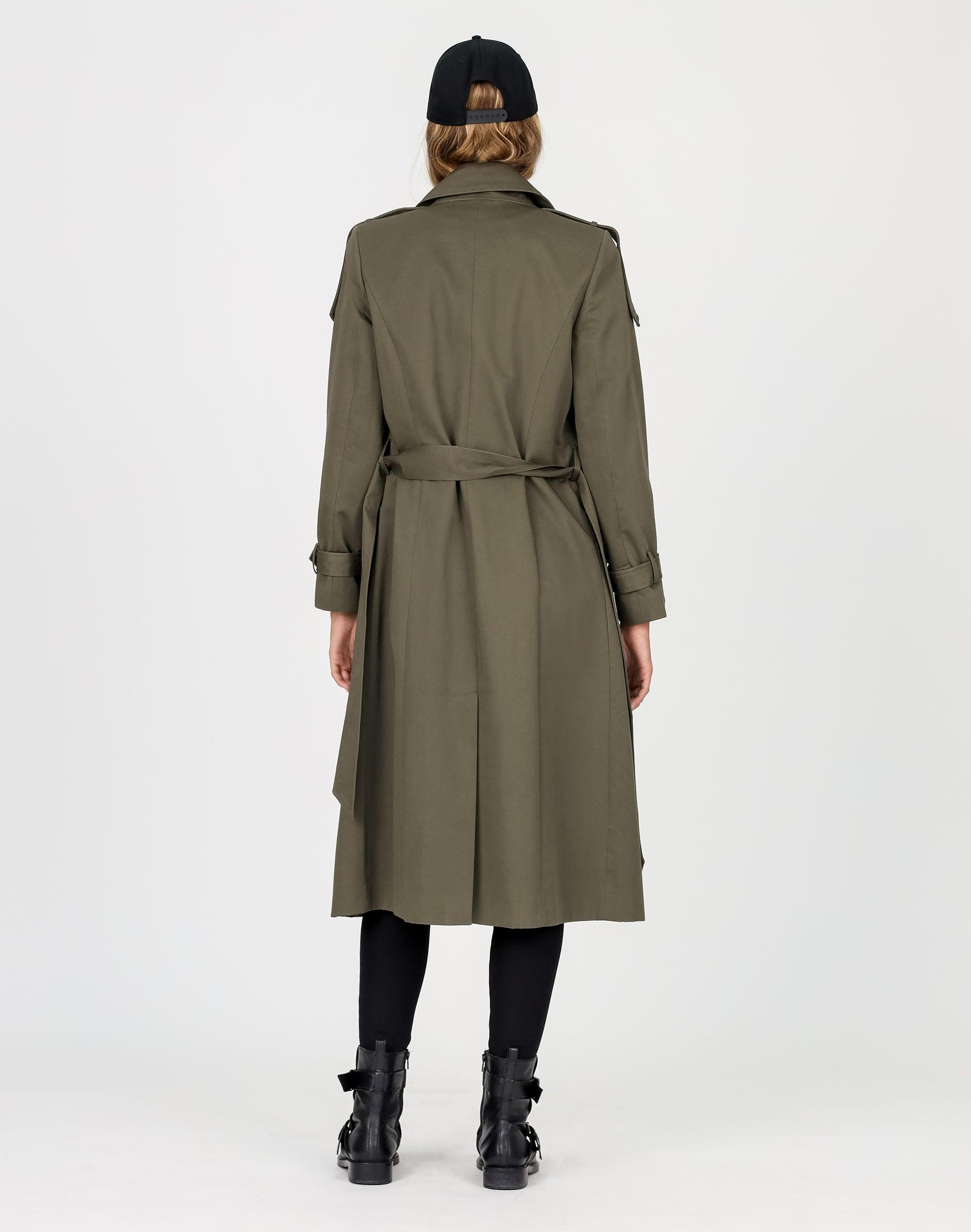 Trench Wrap Coat
