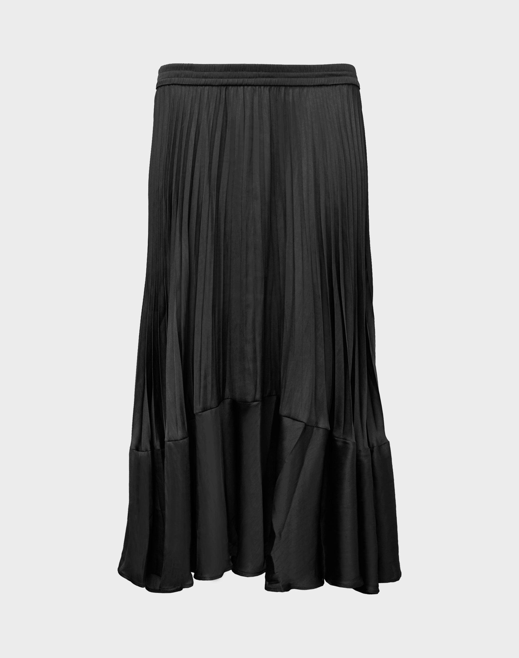 Westbay Pleated Satin Skirt