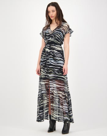 Black Multi Print - Storm Women's Clothing