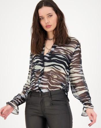 Black Multi Print - Storm Women's Clothing